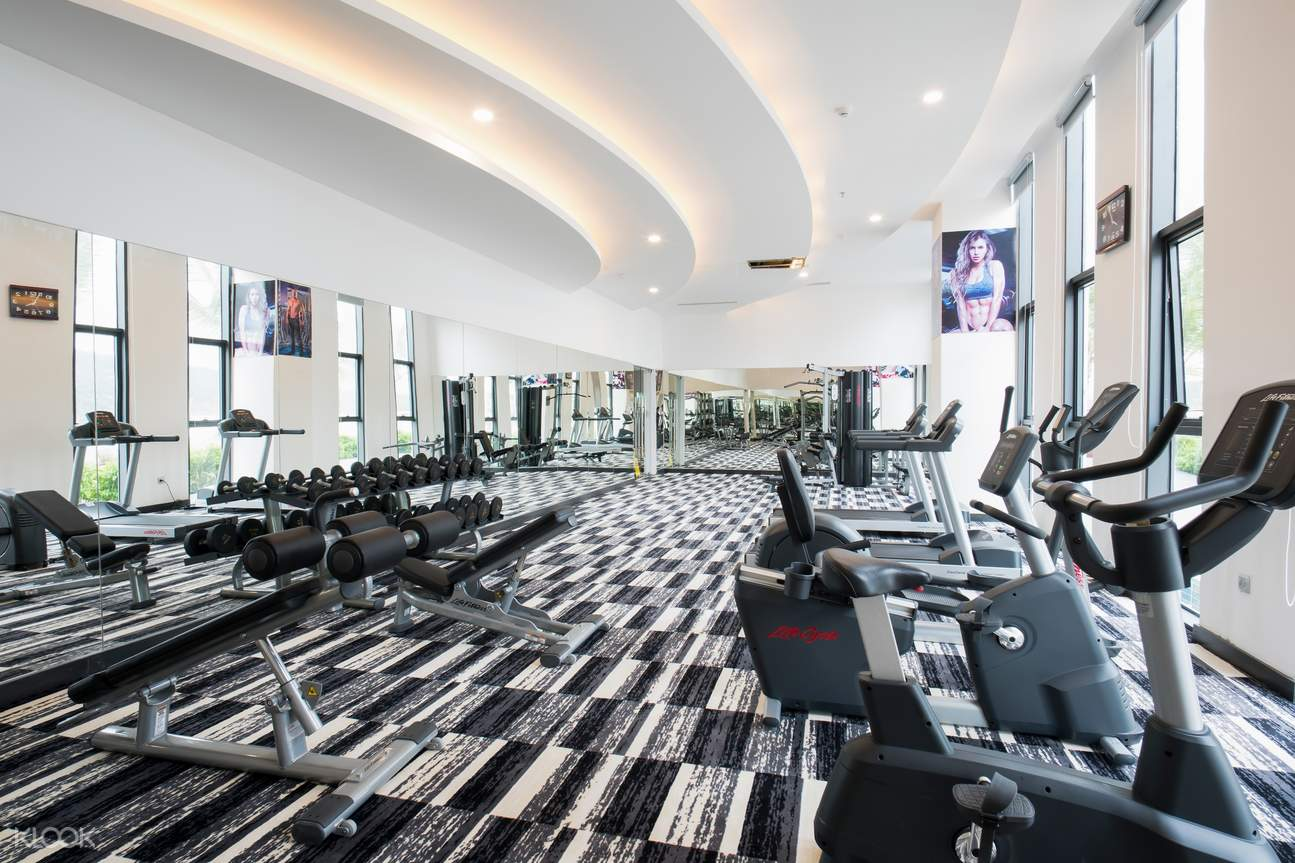 gym in Muong Thanh Luxury phu quoc
